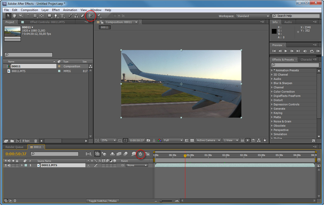 Adobe after effects cs4 - e